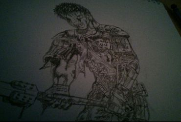 Guts from Berserk by JonNickDeviantArt