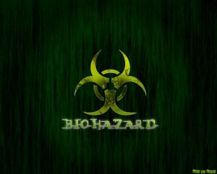 Green biohazard wallpaper by Epoc22