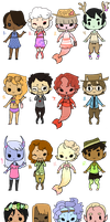 50 Point Adopts by MeowTownPolice
