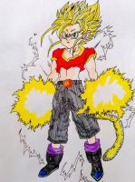 Dragon ball gt pan ssj2 by Sohaiblebon