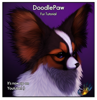 Fur tutorial - DoodlePaw by Yechii