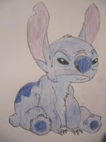 Stitch with colour this time. by nagashizuri