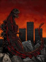 Shin Godzilla by BlueRavenfire
