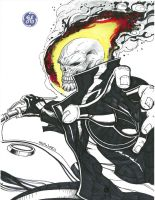 GHOST RIDER by Sajad126
