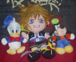 Sora and Co by Purplestuffles
