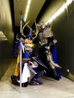 Cosplay : Warrior and Gabranth by chobitsG
