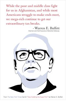 Warren Buffett by DoomCMYK