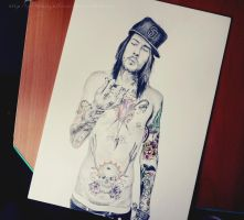 Mike Fuentes by mrsxbenzedrine
