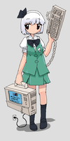 Compaq Youmu by Nameless-Ghost