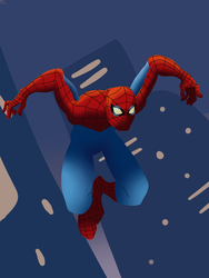 Spider-Man Jump by CountBedlam