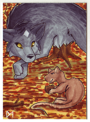 [ACEO] Aitwar by Diaminerre