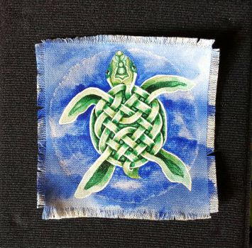 Celtic Sea Turtle  by TheeIceFaerie