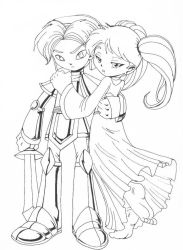 The Knight and the Princess by MoostarGazer