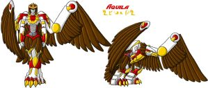 OTF Aquila Revampd' Colored by Autobot-Windracer