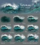 Sea wave tutorial by Develv
