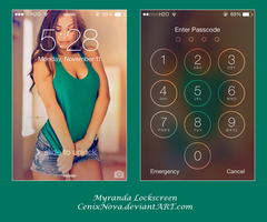 Myranda Lockscreen by DerNosada