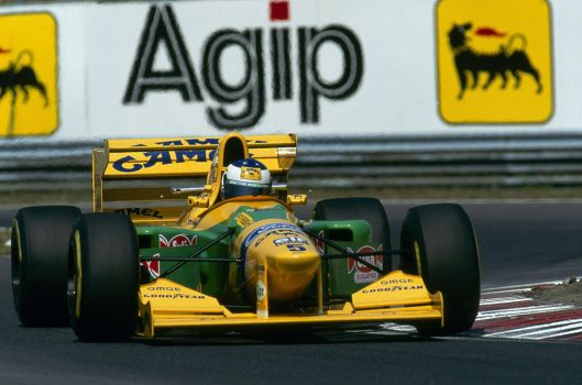 Michael Schumacher (Italy 1993) by F1-history