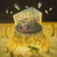 Greed boils in oil for eternity by sgibb