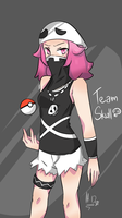 Team Skull Grunt by HayliaDraw