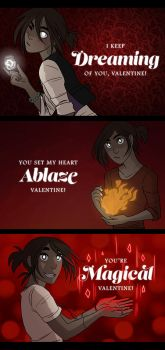 HEX Valentine's Day - Mouse by Hootsweets