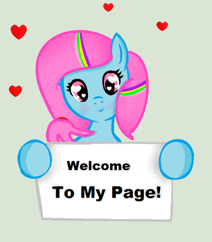 Welcome To My Page! by RachelClara