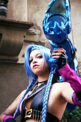 Jinx stands for JINX. by AxelTakahashiVIII