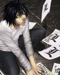 Death Note -  L A M B D A by Jennaris