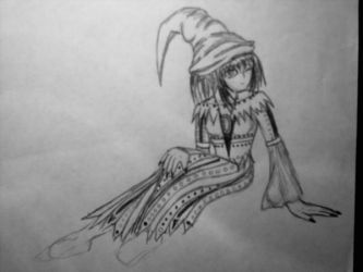 Yizzie Witch Rough by Froggy-Spaztastic