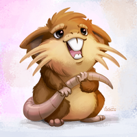020 - Raticate by TsaoShin