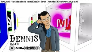 Antichamber Title Card by devillo