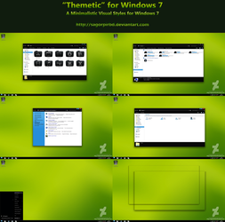 :: Themetic :: for Win 7 Final by sagorpirbd