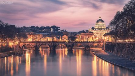 Rome by Night by Unkopierbar