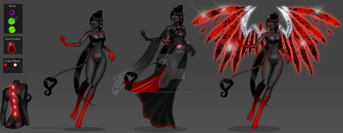 Valix: The Sin - finished sheet 2 by CherrysDesigns