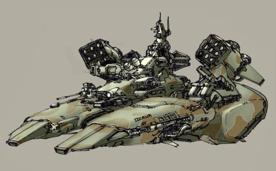 Hover Tank by SpireKat