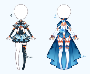 {Closed} Auction Outfit 323 - 324 by xMikuChuu
