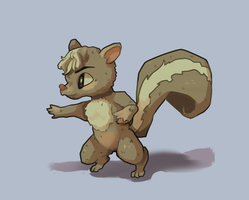 Skunk Thing by Uw0