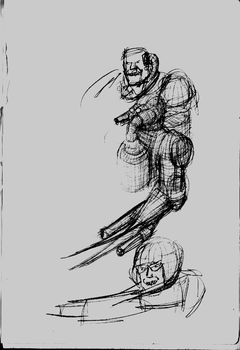 Nightmare Concept Sketch 1 by ForgottenDemigod