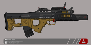 Quicksilver Industries: 'Rattlesnake' AR by Shockwave9001