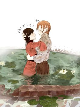 LOTF-in the lily pond by sarriathmoonghost