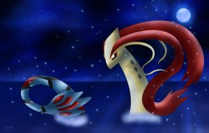 Milotic - Beauty of the Sea by Rose-Beuty