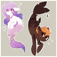 merpony adoptables [OPEN] by goatier