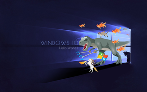Windows 10 wallpaper by zhalovejun