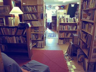 Used Book Store no.1 by ronni