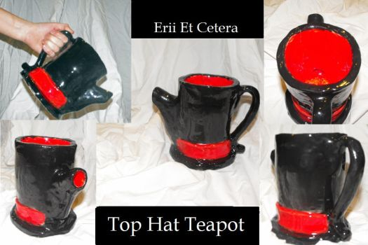 Top Hat Teapot by EriiEtCetera