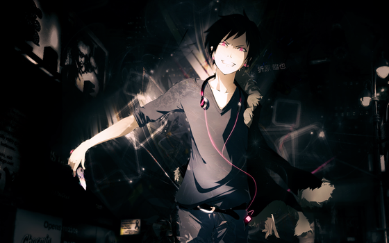 Orihara Izaya Wallpaper by friedeggtart