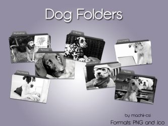 Dog folders by Machii-csi