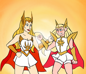 SHE-RA SHE-RA by penguin04