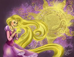 Rapunzel by onewingedtenchi