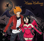 Happy Halloween from IchiRuki! by myredplanet