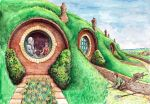 In the Garden of Bag End by MatejCadil